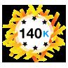 140K Karma - Has at least 140,000 karma points.