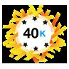 40K Karma - Has at least 40,000 karma points.