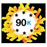 90K Karma - Has at least 90,000 karma points.